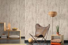 7088-30 cikkszámú tapéta.3d hatású,dekor tapéta ,fa hatású-fa mintás,különleges felületű,fehér,szürke,vajszínű,súrolható,illesztés mentes,vlies tapéta