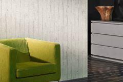 7137-11 cikkszámú tapéta.3d hatású,dekor,fa hatású-fa mintás,különleges felületű,különleges motívumos,fehér,szürke,súrolható,illesztés mentes,vlies tapéta