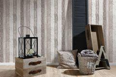 8550-53 cikkszámú tapéta.3d hatású,dekor,fa hatású-fa mintás,különleges felületű,különleges motívumos,barna,bézs-drapp,vajszín,súrolható,illesztés mentes,vlies tapéta