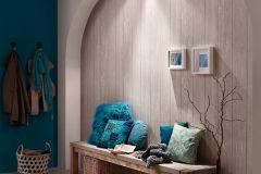 8968-27 cikkszámú tapéta.3d hatású,csíkos,fa hatású-fa mintás,különleges felületű,bézs-drapp,szürke,vajszín,súrolható,vlies tapéta