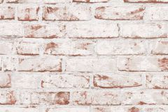 9078-13 cikkszámú tapéta.3d hatású,kőhatású-kőmintás,különleges felületű,retro,barna,fehér,piros-bordó,vajszín,lemosható,vlies tapéta