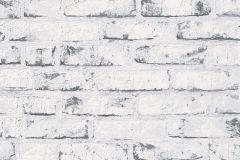 9078-37 cikkszámú tapéta.3d hatású,kőhatású-kőmintás,különleges felületű,különleges motívumos,retro,fehér,szürke,lemosható,vlies tapéta