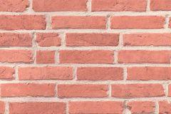94283-1 cikkszámú tapéta.3d hatású,kőhatású-kőmintás,különleges felületű,narancs-terrakotta,szürke,lemosható,vlies tapéta