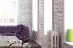 94283-2 cikkszámú tapéta.3d hatású,kőhatású-kőmintás,különleges felületű,ezüst,szürke,lemosható,vlies tapéta