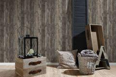 95405-1 cikkszámú tapéta.Fa hatású-fa mintás,különleges felületű,barna,bézs-drapp,kék,szürke,súrolható,vlies tapéta