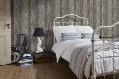 95405-2 cikkszámú tapéta.Fa hatású-fa mintás,különleges felületű,barna,bézs-drapp,kék,szürke,súrolható,vlies tapéta