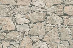 95863-2 cikkszámú tapéta.3d hatású,kőhatású-kőmintás,különleges felületű,bézs-drapp,szürke,súrolható,vlies tapéta