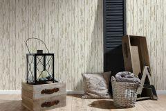 95883-1 cikkszámú tapéta.Absztrakt,dekor tapéta ,fa hatású-fa mintás,különleges felületű,bézs-drapp,fehér,vajszín,súrolható,illesztés mentes,vlies tapéta
