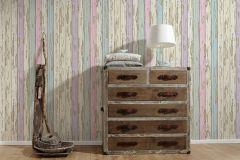 95883-2 cikkszámú tapéta.Absztrakt,dekor tapéta ,fa hatású-fa mintás,különleges felületű,bézs-drapp,kék,lila,türkiz,zebra,zöld,súrolható,illesztés mentes,vlies tapéta