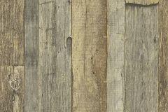 95931-3 cikkszámú tapéta.Fa hatású-fa mintás,különleges felületű,barna,narancs-terrakotta,szürke,zöld,súrolható,vlies tapéta