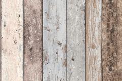 8550-39 cikkszámú tapéta.Fa hatású-fa mintás,barna,bézs-drapp,szürke,súrolható,illesztés mentes,vlies tapéta