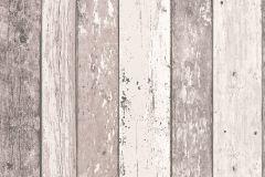 8550-53 cikkszámú tapéta.Fa hatású-fa mintás,barna,bézs-drapp,fehér,vajszínű,súrolható,illesztés mentes,vlies tapéta