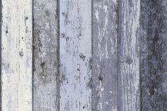 8550-60 cikkszámú tapéta.Fa hatású-fa mintás,fehér,kék,szürke,súrolható,illesztés mentes,vlies tapéta