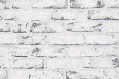 9078-37 cikkszámú tapéta.Kőhatású-kőmintás,fehér,szürke,súrolható,vlies tapéta