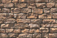 9079-12 cikkszámú tapéta.Kőhatású-kőmintás,barna,bézs-drapp,fekete,súrolható,vlies tapéta