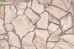 9273-23 cikkszámú tapéta.Kőhatású-kőmintás,barna,bézs-drapp,szürke,vajszínű,súrolható,vlies tapéta