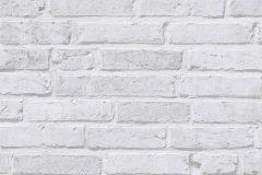 94283-2 cikkszámú tapéta.Kőhatású-kőmintás,fehér,szürke,súrolható,vlies tapéta