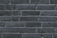 94283-3 cikkszámú tapéta.Kőhatású-kőmintás,fekete,szürke,súrolható,vlies tapéta