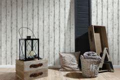 95370-1 cikkszámú tapéta.Fa hatású-fa mintás,fehér,barna,bézs-drapp,súrolható,illesztés mentes,vlies tapéta