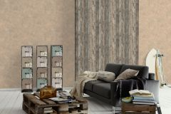 95405-3 cikkszámú tapéta.Fa hatású-fa mintás,barna,szürke,súrolható,vlies tapéta