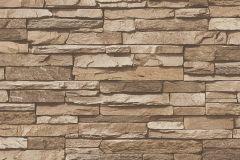 95833-2 cikkszámú tapéta.Kőhatású-kőmintás,barna,bézs-drapp,súrolható,vlies tapéta