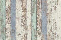 95914-1 cikkszámú tapéta.Fa hatású-fa mintás,barna,bézs-drapp,fehér,kék,szürke,zöld,súrolható,illesztés mentes,vlies tapéta