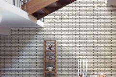 34278-1 cikkszámú tapéta.3d hatású,fotórealisztikus,kőhatású-kőmintás,fehér,fekete,súrolható,papír tapéta
