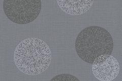 34771-3 cikkszámú tapéta.Geometriai mintás,pöttyös,fekete,szürke,lemosható,illesztés mentes,vlies tapéta