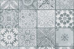 36205-3 cikkszámú tapéta.Geometriai mintás,kőhatású-kőmintás,különleges motívumos,fehér,fekete,szürke,súrolható,vlies tapéta
