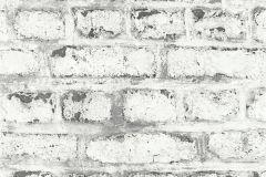 36280-2 cikkszámú tapéta.3d hatású,fotórealisztikus,kőhatású-kőmintás,fehér,fekete,szürke,súrolható,vlies tapéta