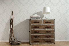 5543-38 cikkszámú tapéta.Barokk-klasszikus,fehér,lemosható,vlies tapéta