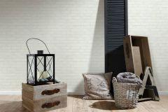 9078-51 cikkszámú tapéta.Egyszínű,kőhatású-kőmintás,fehér,lemosható,vlies tapéta