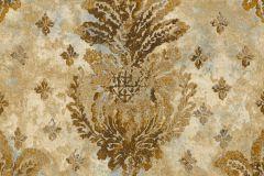 36456-1 cikkszámú tapéta.Absztrakt,különleges motívumos,metál-fényes,arany,türkiz,súrolható,vlies tapéta