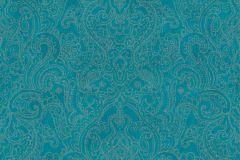 36458-3 cikkszámú tapéta.Csillámos,különleges felületű,különleges motívumos,marokkói ,rajzolt,arany,kék,türkiz,súrolható,vlies tapéta