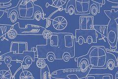 30449-1 cikkszámú tapéta.Gyerek,különleges motívumos,fehér,kék,gyengén mosható,papír tapéta