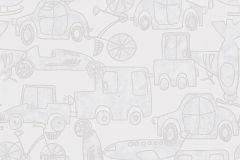 30449-2 cikkszámú tapéta.Gyerek,különleges motívumos,bézs-drapp,fehér,szürke,gyengén mosható,papír tapéta