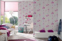 30528-1 cikkszámú tapéta.Emberek-sztárok,gyerek,fehér,pink-rózsaszín,lemosható,papír tapéta