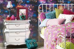 30656-1 cikkszámú tapéta.Emberek-sztárok,gyerek,fehér,fekete,kék,lila,narancs-terrakotta,pink-rózsaszín,piros-bordó,sárga,szürke,türkiz,zöld,gyengén mosható,papír tapéta