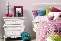 9087-28 cikkszámú tapéta.Csíkos,pink-rózsaszín,gyengén mosható,illesztés mentes,papír tapéta