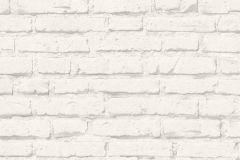 34399-2 cikkszámú tapéta.Kőhatású-kőmintás,különleges felületű,fehér,szürke,vlies tapéta