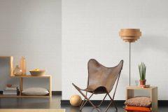 35981-1 cikkszámú tapéta.Kőhatású-kőmintás,különleges felületű,fehér,lemosható,vlies tapéta