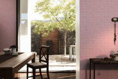 35981-2 cikkszámú tapéta.Kőhatású-kőmintás,különleges felületű,fehér,pink-rózsaszín,lemosható,vlies tapéta