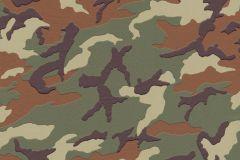 3694-06 cikkszámú tapéta.Gyerek,különleges felületű,különleges motívumos,barna,zöld,lemosható,vlies tapéta
