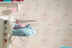 36998-2 cikkszámú tapéta.állatok,csillámos,gyerek,különleges felületű,bézs-drapp,gyöngyház,lemosható,vlies tapéta