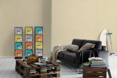 7584-15 cikkszámú tapéta.Egyszínű,különleges felületű,bézs-drapp,gyengén mosható,illesztés mentes,papír tapéta