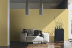 34503-9 cikkszámú tapéta.Dekor,egyszínű,gyerek,különleges felületű,textil hatású,textilmintás,sárga,súrolható,illesztés mentes,vlies tapéta