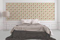 34508-3 cikkszámú tapéta.Barokk-klasszikus,különleges felületű,különleges motívumos,rajzolt,természeti mintás,textilmintás,virágmintás,fehér,kék,pink-rózsaszín,sárga,zöld,súrolható,vlies tapéta