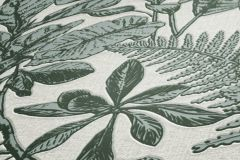 37520-2 cikkszámú tapéta.Természeti mintás,virágmintás,bézs-drapp,zöld,lemosható,vlies tapéta
