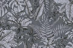 37520-5 cikkszámú tapéta.Természeti mintás,virágmintás,szürke,lemosható,vlies tapéta