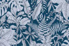 37520-6 cikkszámú tapéta.Természeti mintás,virágmintás,kék,lemosható,vlies tapéta